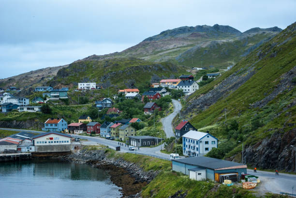 Honningsvég - Das Tor zum Nordkap – Foto