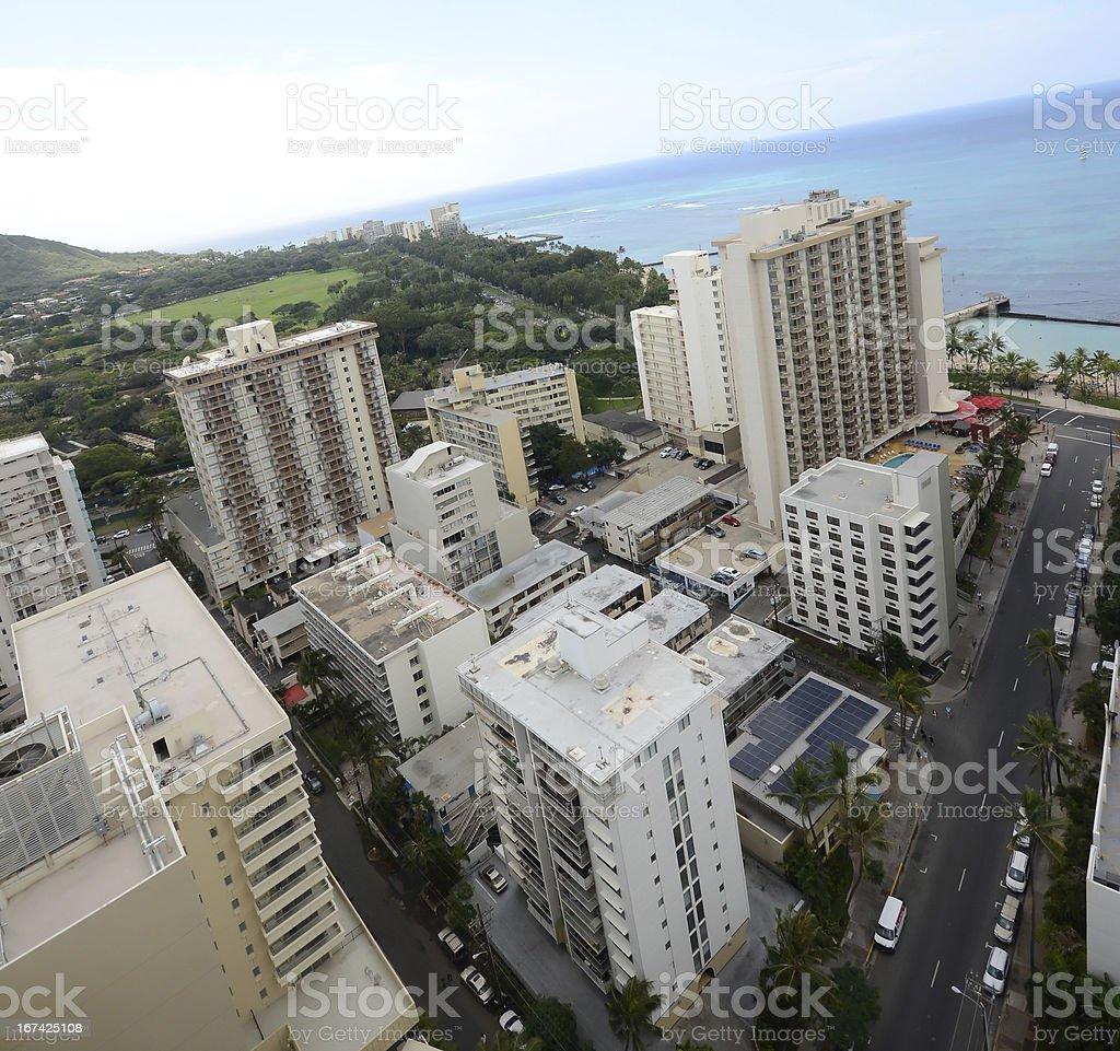 Honolulu, Hawaii royalty-free stock photo