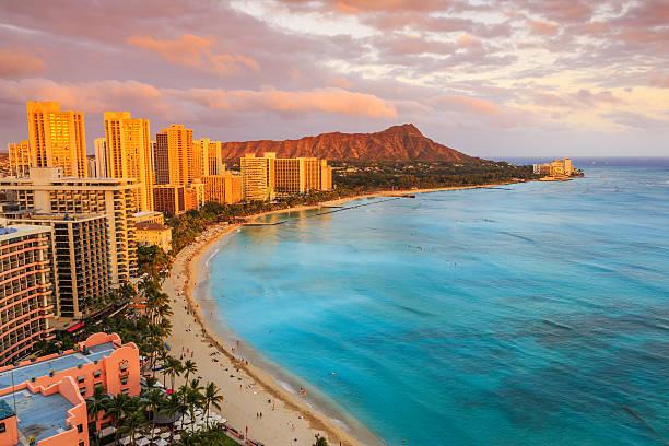 Honolulu, Hawaii. stock photo