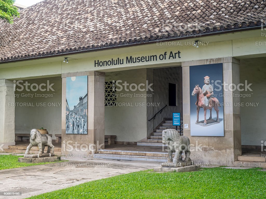Honolulu Museum of Art - foto stock
