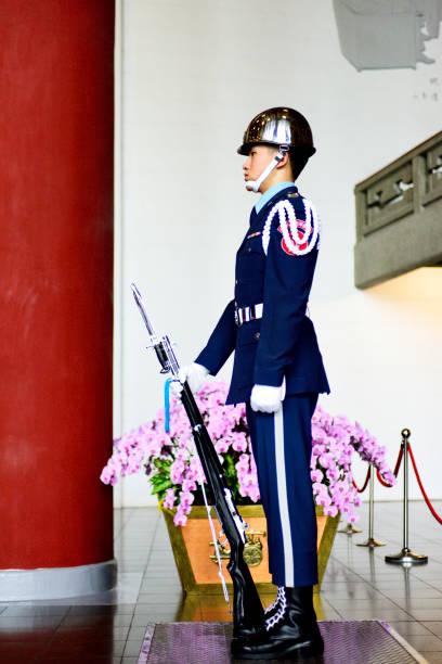 Ehrenwache im Einsatz in der Sun Yat-sen Memorial Hall – Foto