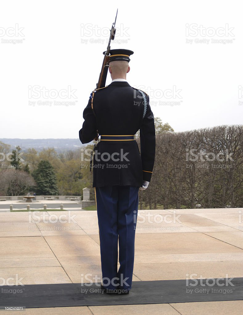 Honor Guard royalty-free stock photo