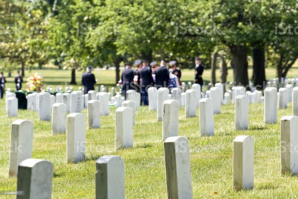 Honoring the Fallen stock photo
