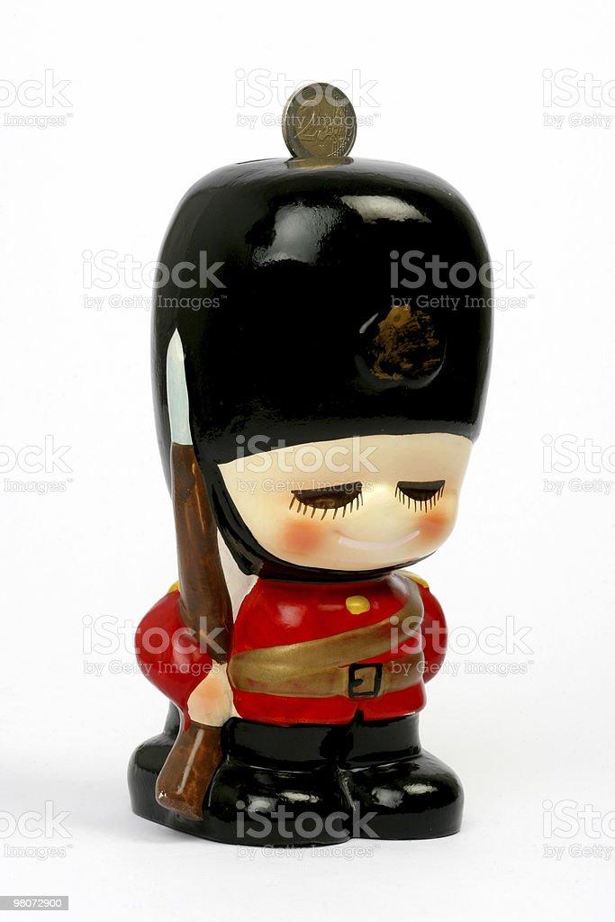 Honour Guard Money-Box royalty-free stock photo