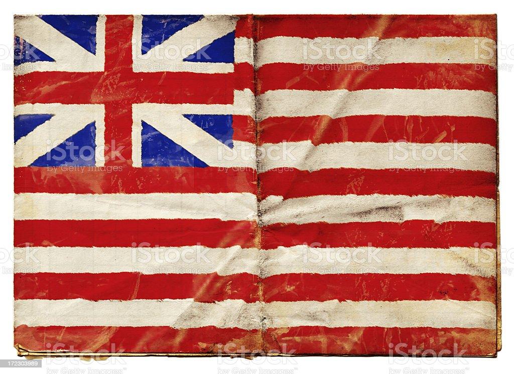 Honourable East India Company Flag (XXL) royalty-free stock photo