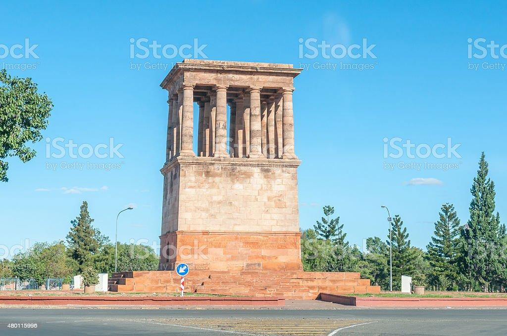 Honoured Dead Memorial in Kimberley stock photo