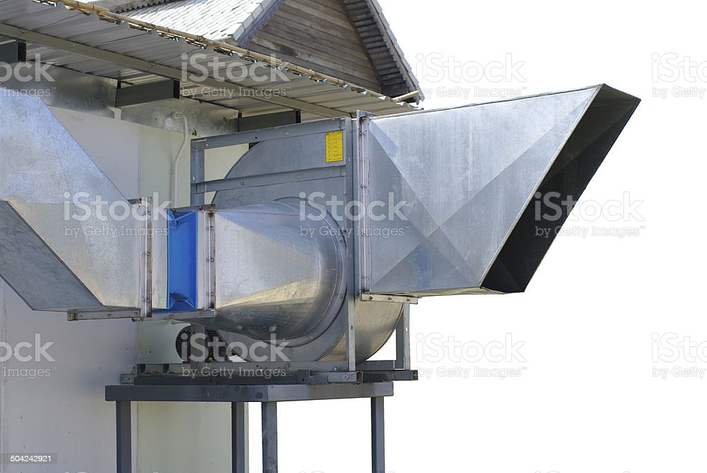 hood system outside stock photo