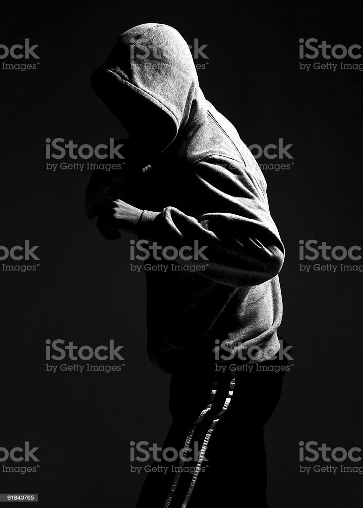 Hoodie stock photo