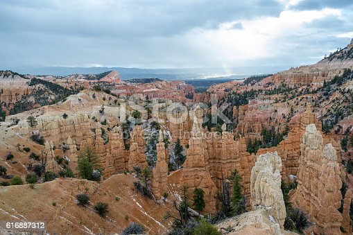Bryce Canyon in Utah with its geological feature the Hoodoos