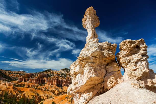 Hoodoos Rock Formationen Fairyland Loop Wandern Wanderweg Bryce Canyon National Park Utah Vereinigte Staaten von Amerika – Foto
