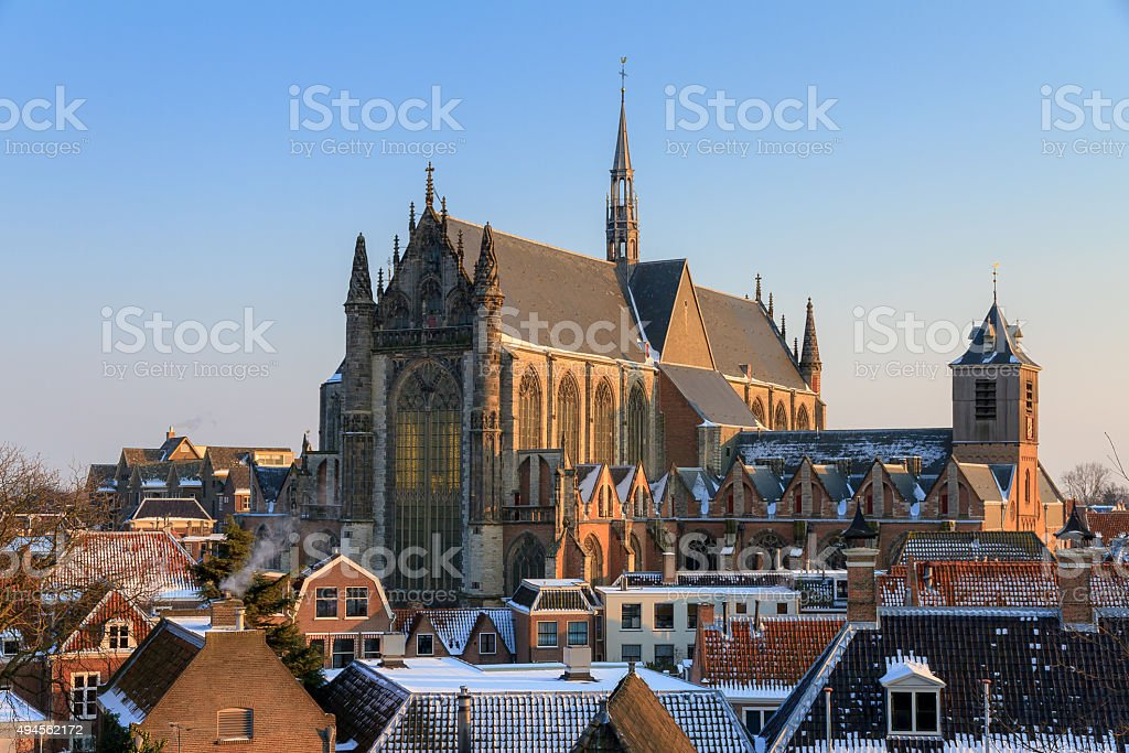 Hooglandse kerk stock photo
