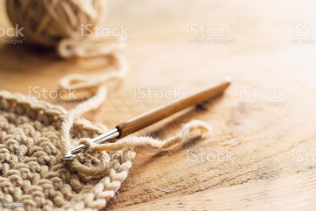 Crochet stock photo