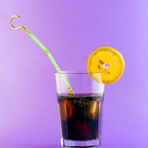 Hooked On Sugar; Cola stock photo