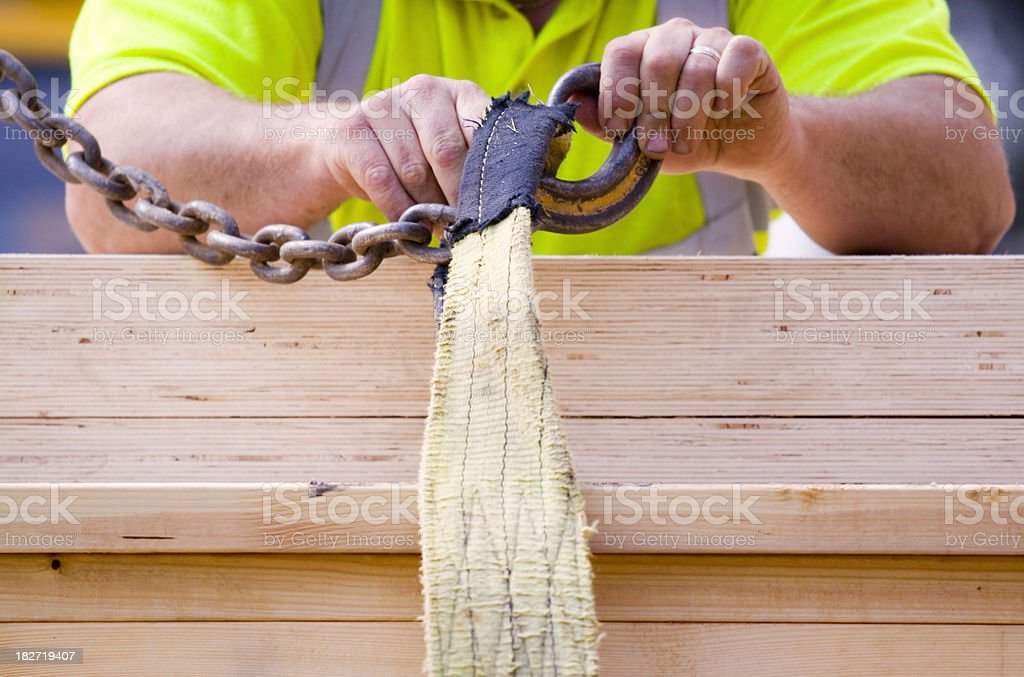 Hooking Up royalty-free stock photo