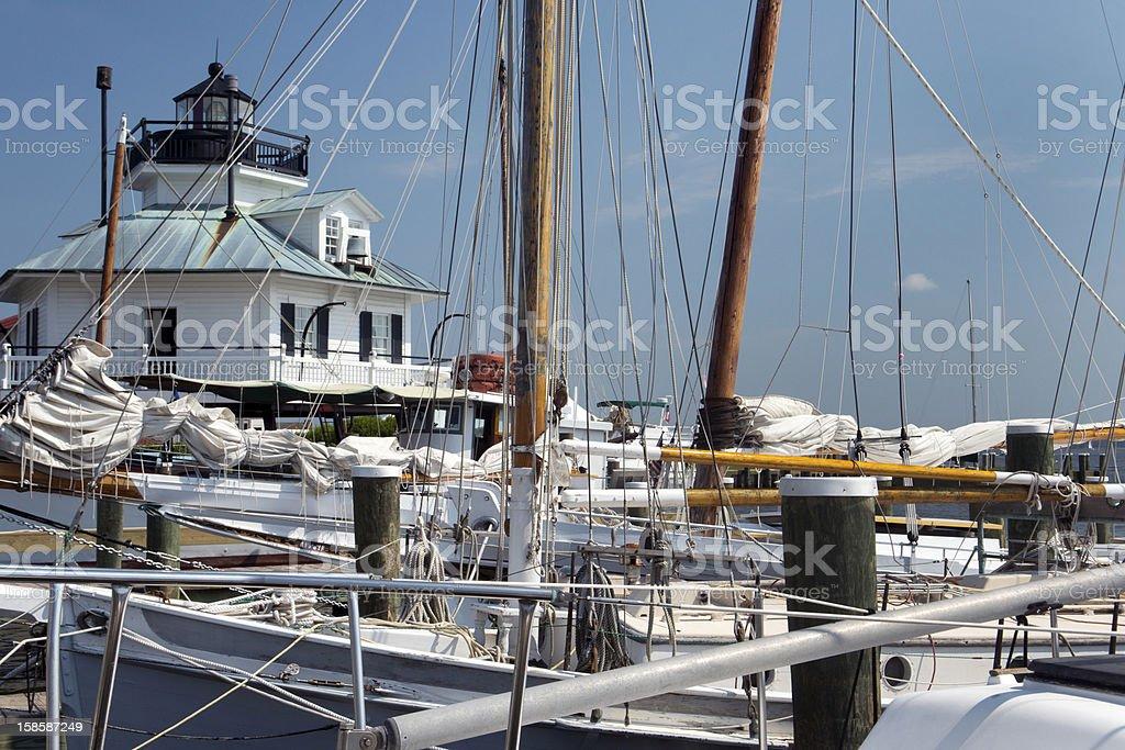 Hooper Strait Lighthouse royalty-free stock photo