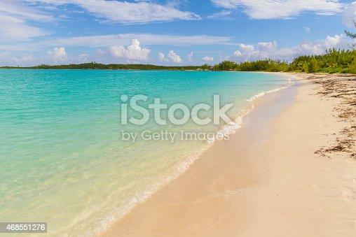 istock Hooper's Bay Beach in Exuma - Bahamas 468551276