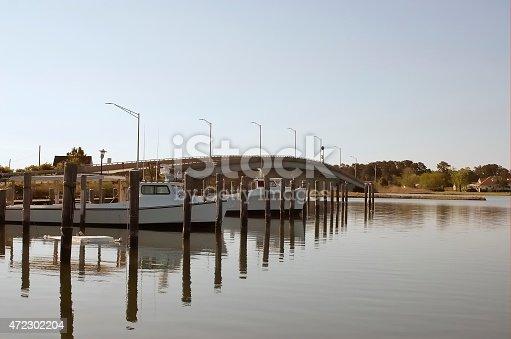 istock Hooper's Island Tyler's Cove Crabbing Boats 472302204