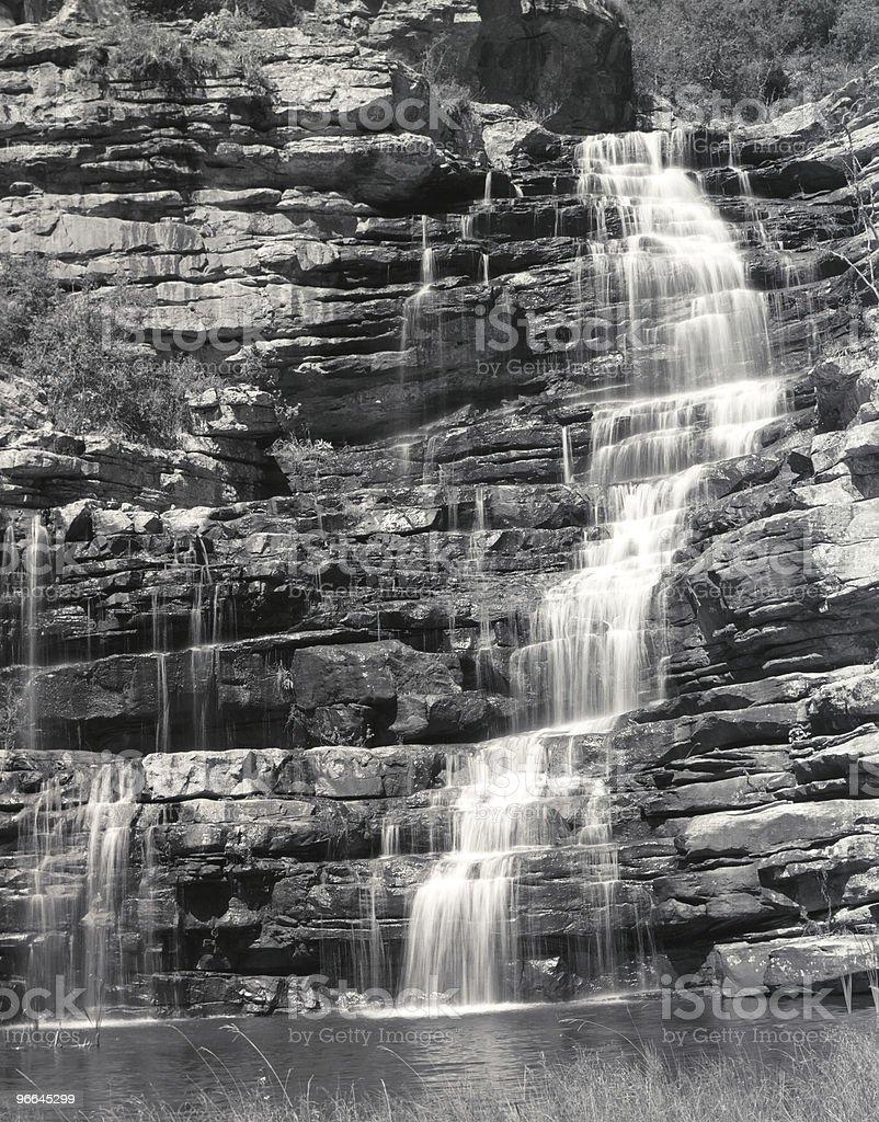 Hoopoe falls royalty-free stock photo