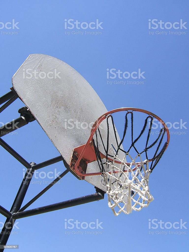 Hoops royalty-free stock photo