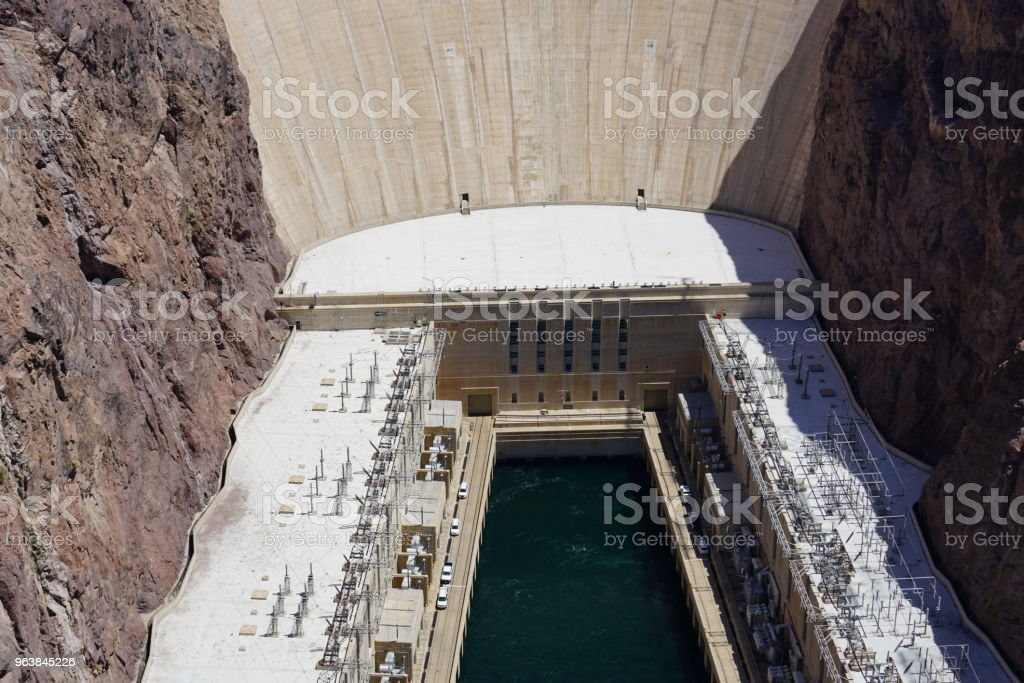 Hoover Dam and lake Mead Area - Royalty-free Arizona Stock Photo