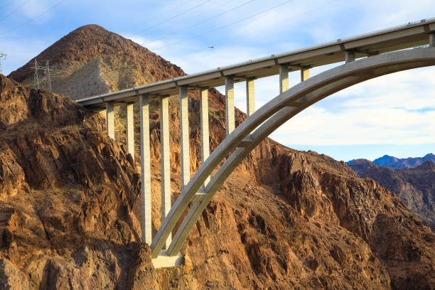 hoover dam bridge - clark county nevada stock pictures, royalty-free photos & images