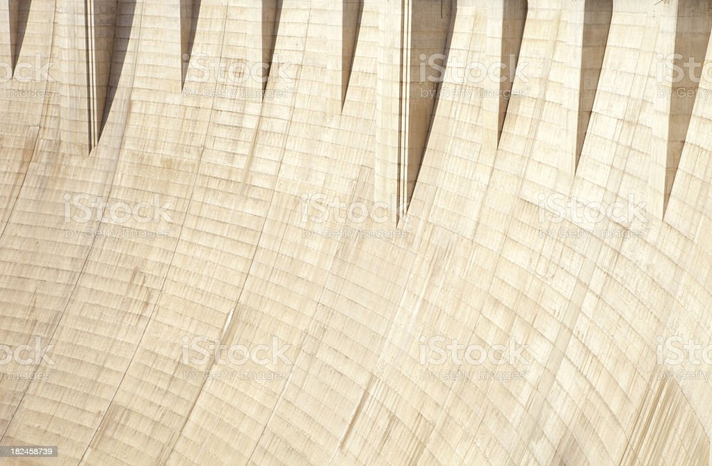 Hoover Dam Close Up royalty-free stock photo