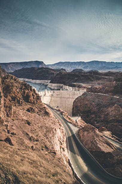 hoover dam - clark county nevada stock pictures, royalty-free photos & images