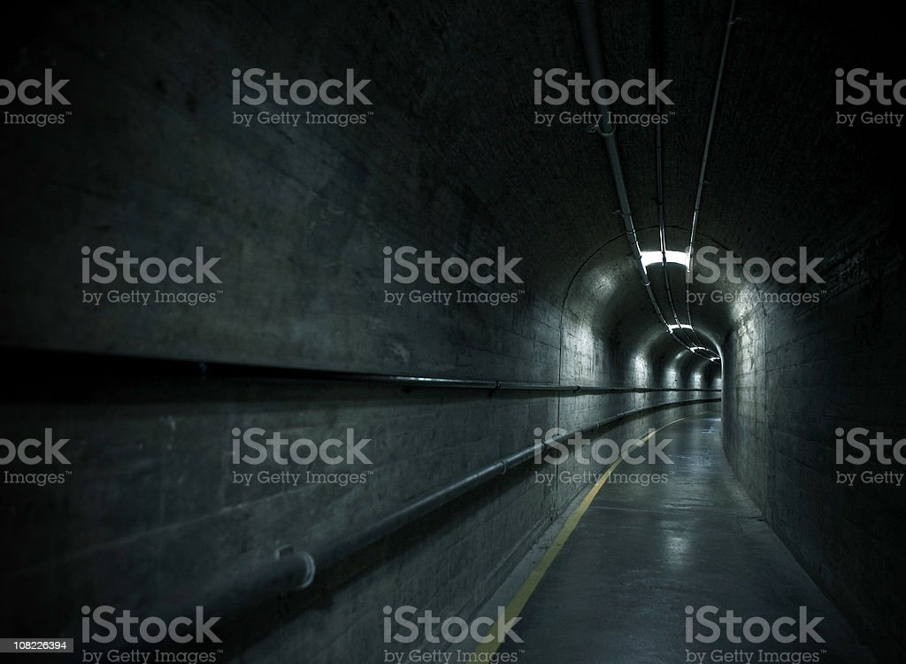 hoover dam tunnel royalty-free stock photo