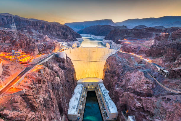 hoover dam, usa - clark county nevada stock pictures, royalty-free photos & images