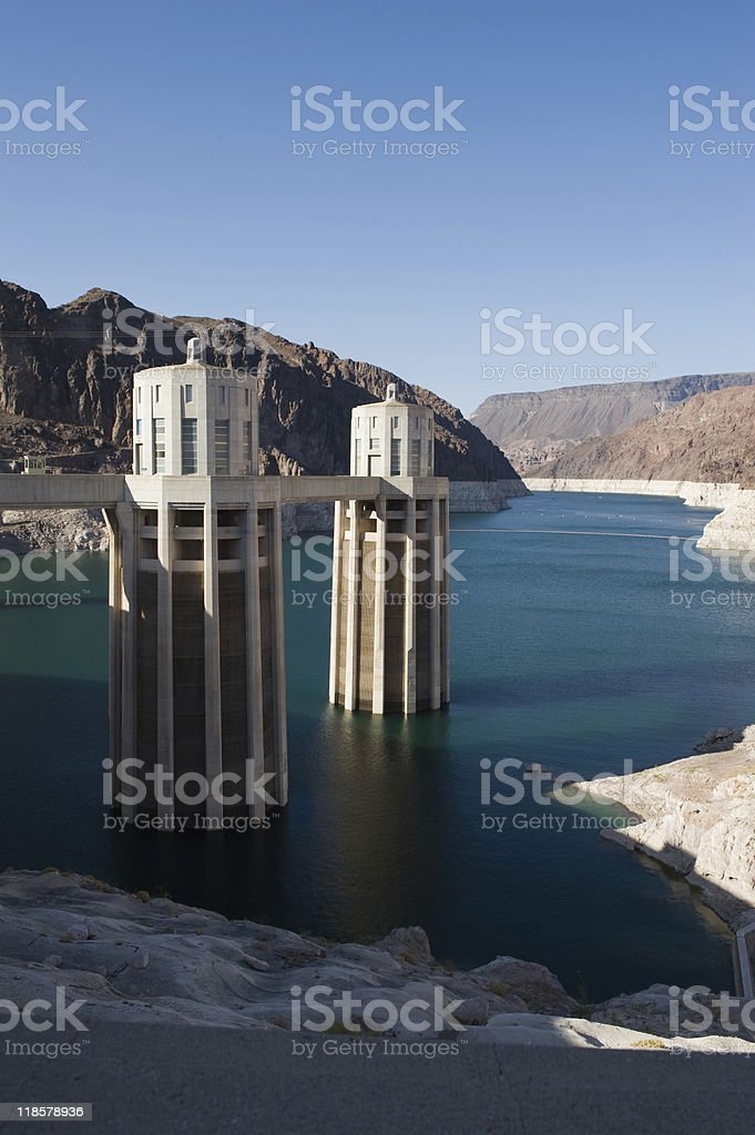 Hoover Dam, USA royalty-free stock photo
