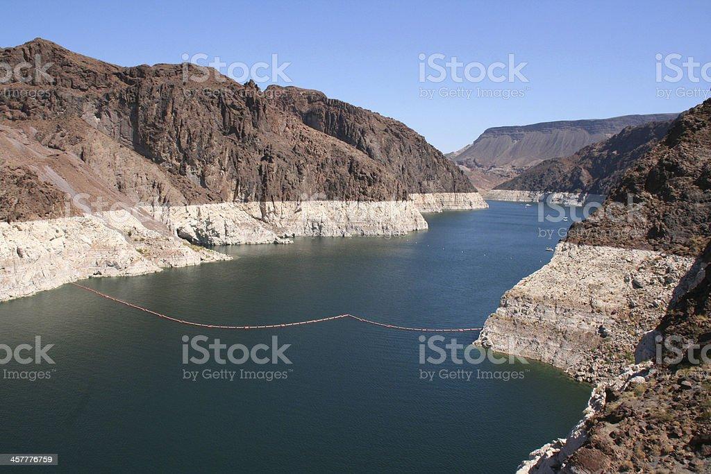 Hoover Dam (boulder dam), USA. stock photo