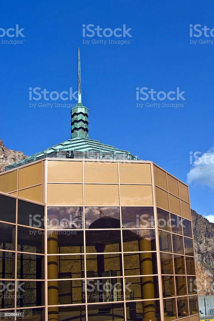 Hoover Dam Visitor Center royalty-free stock photo