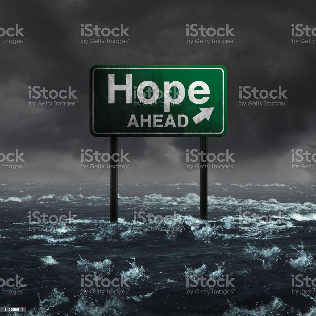 Hope Ahead stock photo