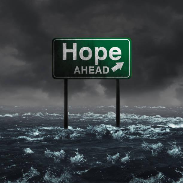 Hope Ahead stock photo