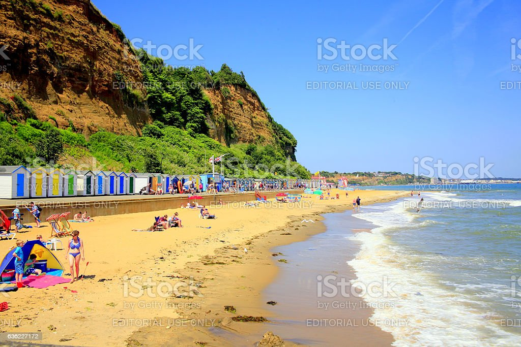 Hope Beach, Shanklin, Isle of Wight. stock photo