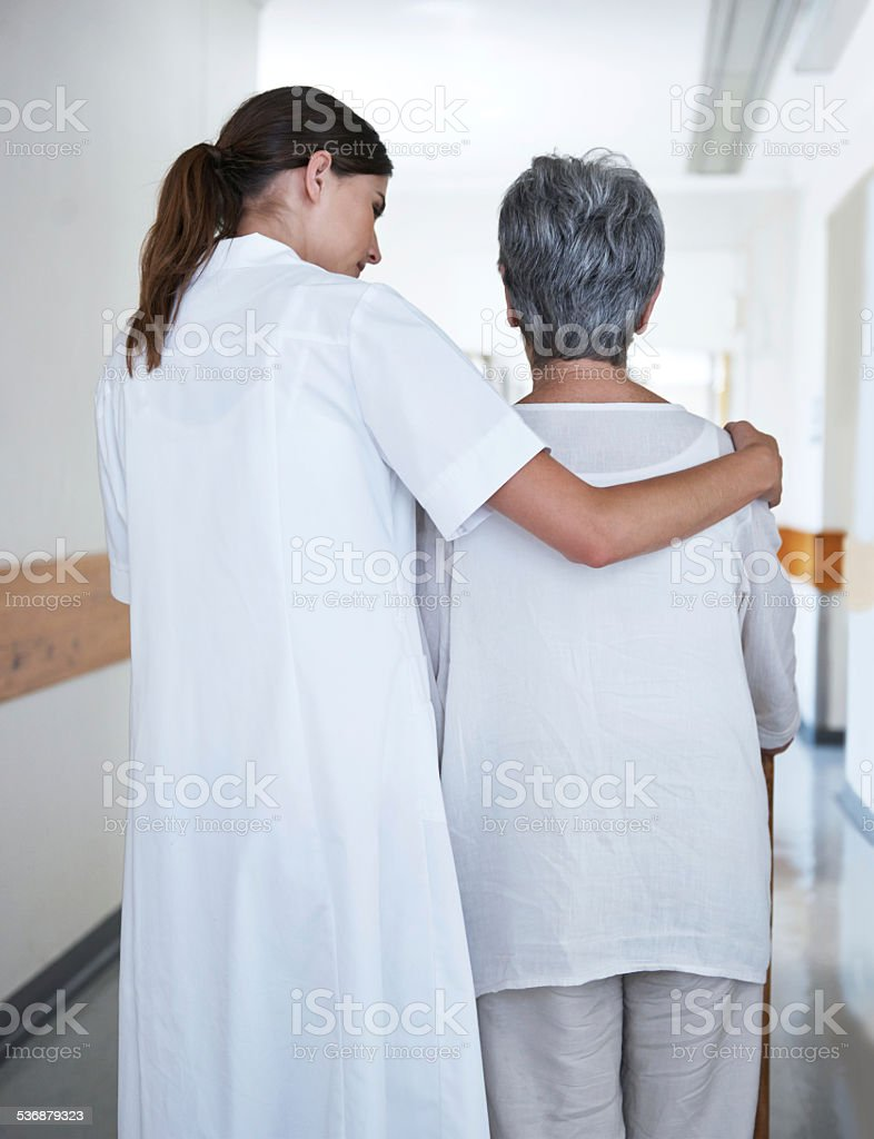 Hope from a helping hand stock photo
