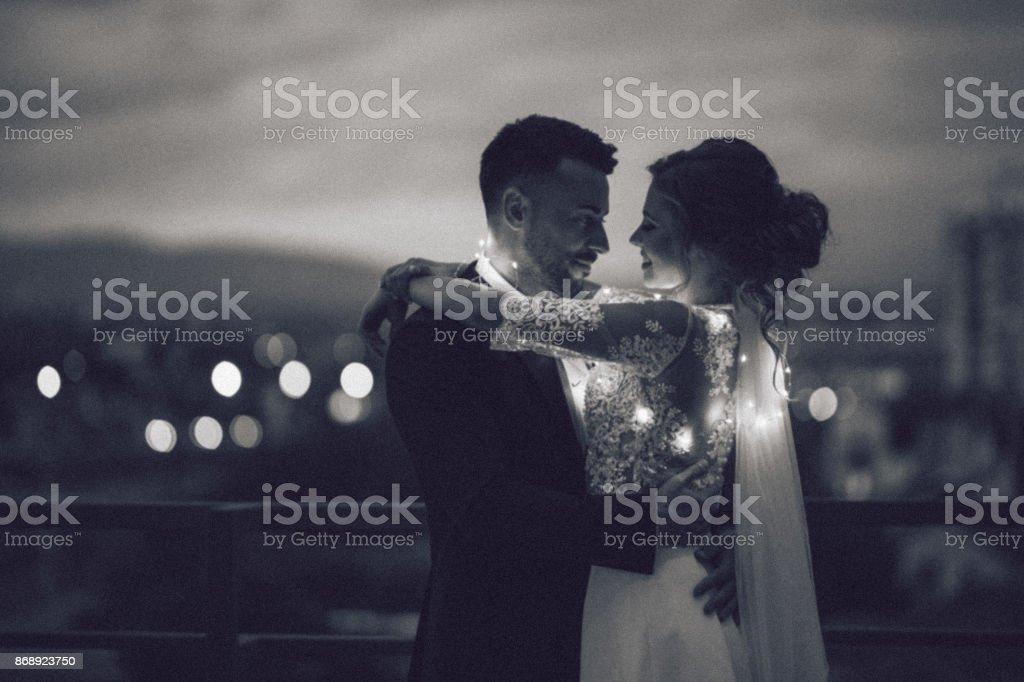 I hope happy moments will last forever stock photo