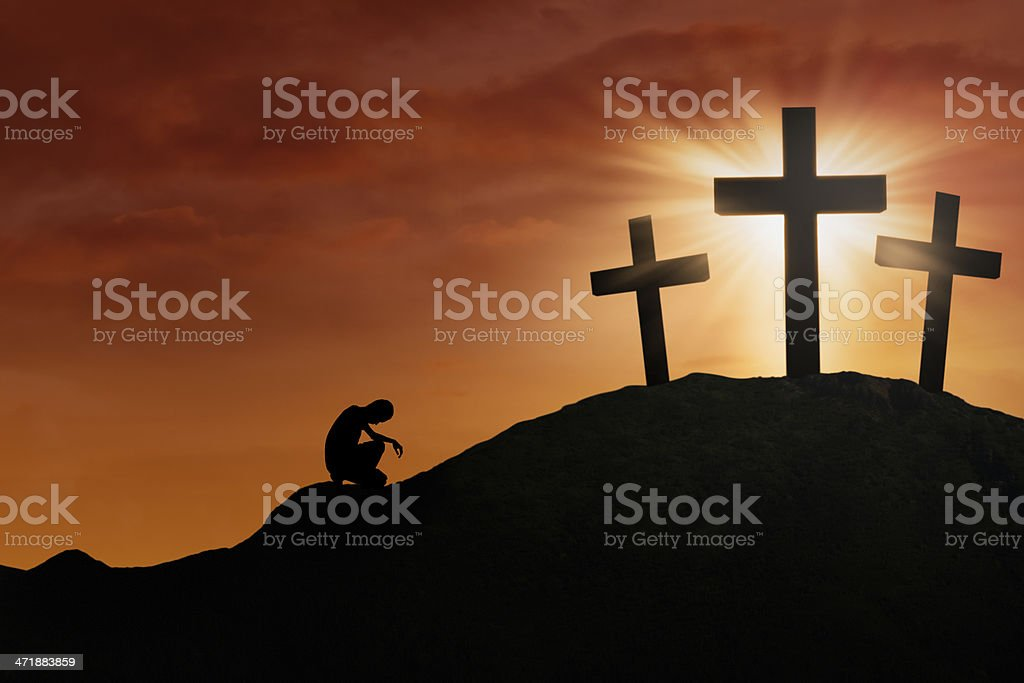 Hope of the Cross stock photo