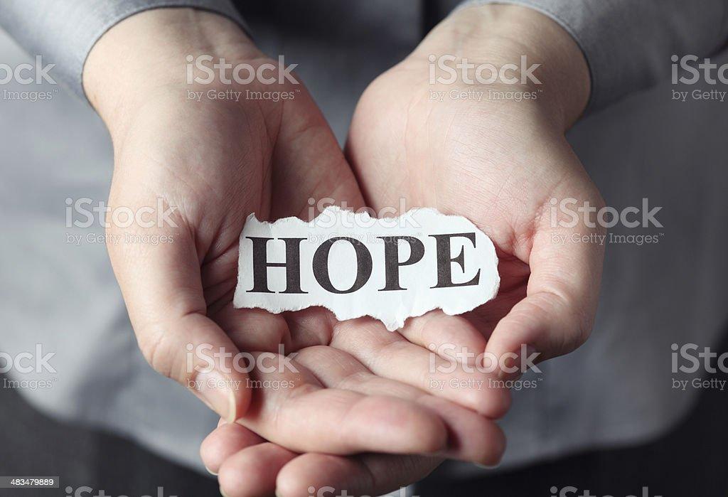 Hope stock photo