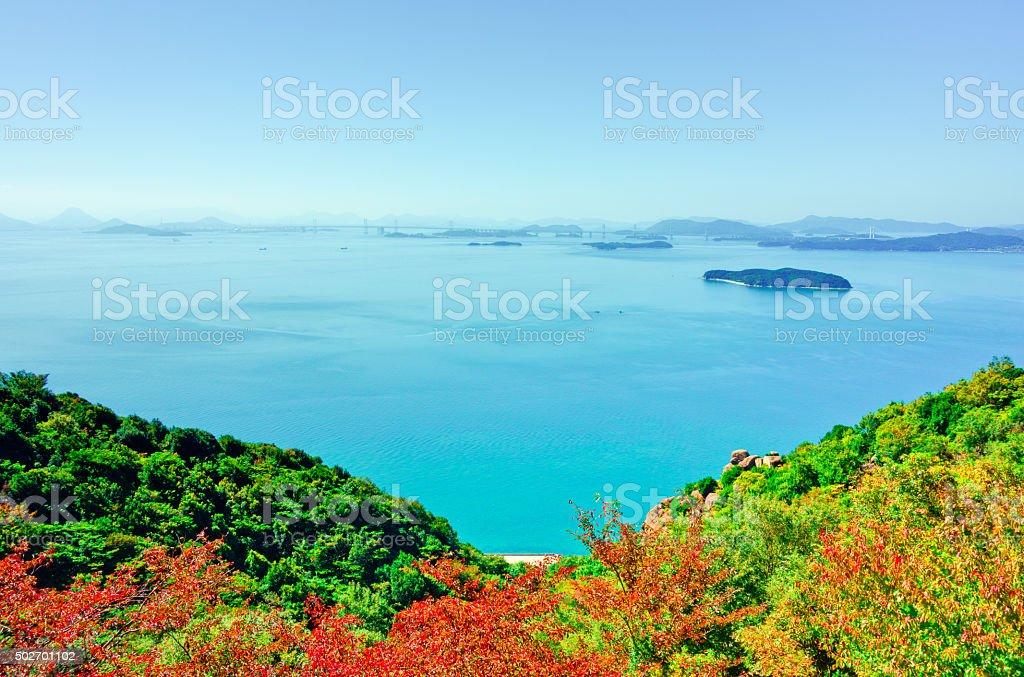 I hope the Seto Inland Sea stock photo