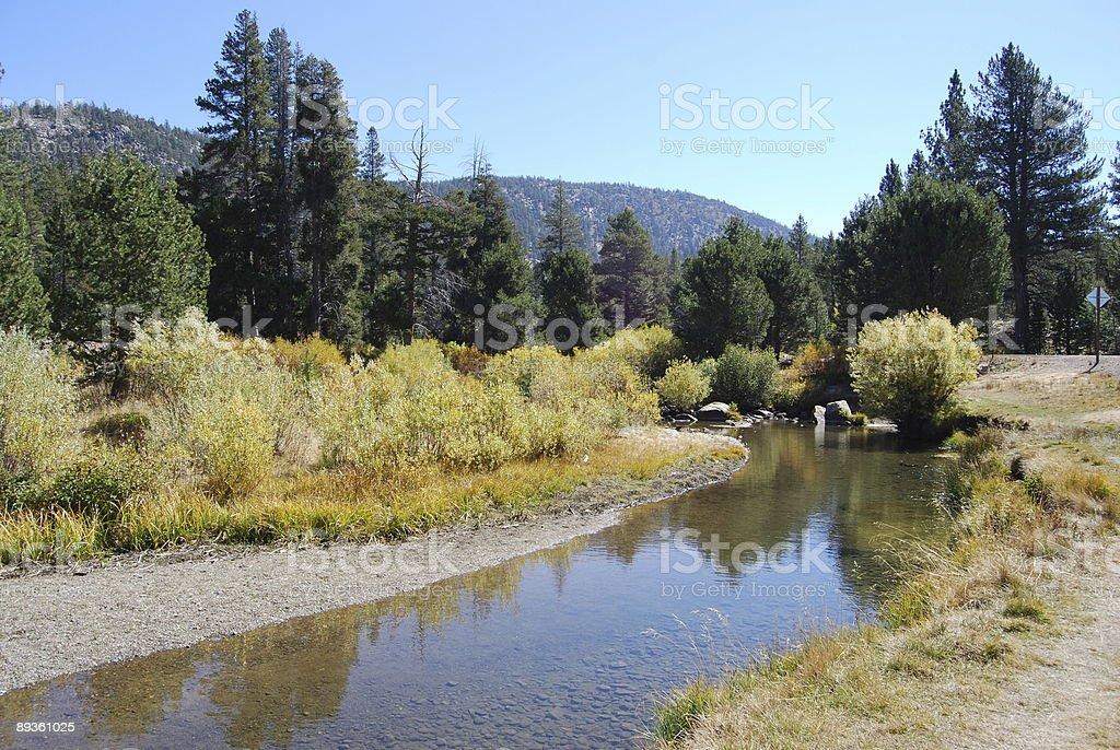 Hope Valley, California royaltyfri bildbanksbilder
