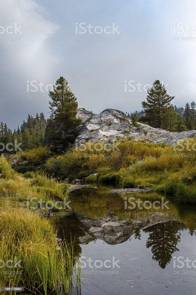 Hope Valley, Carson Pass, California stock photo