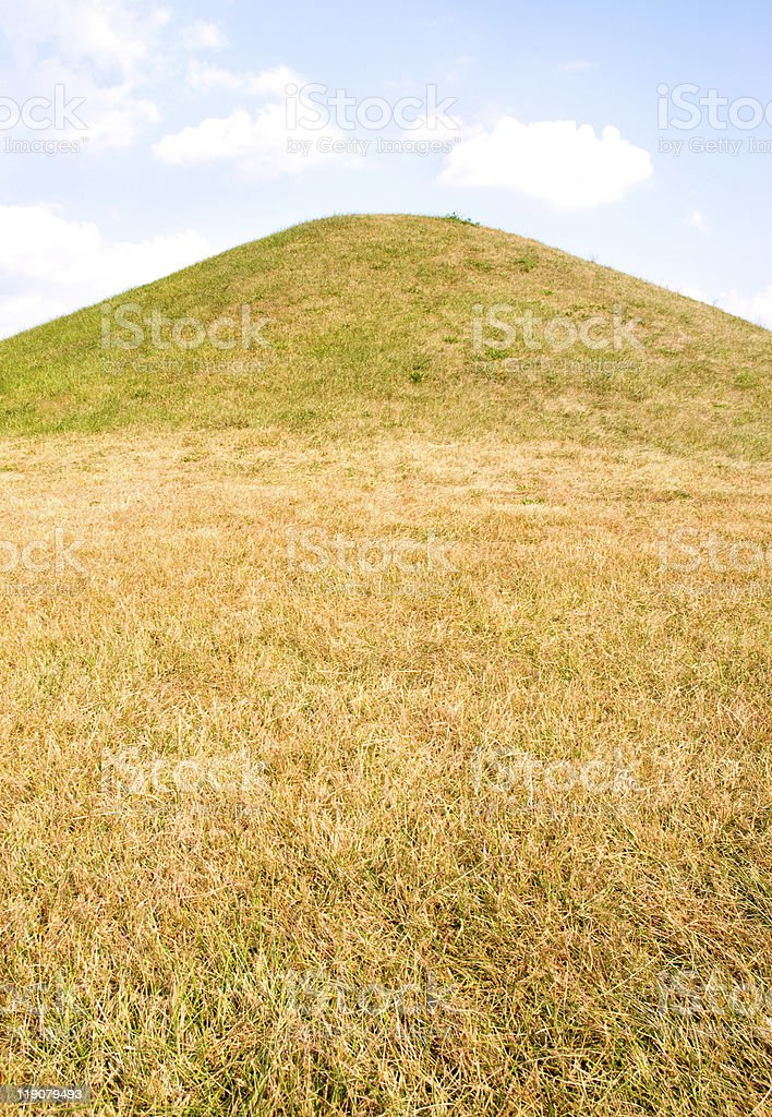 Hopewell Culture National Historical Park, Native American Indian mounds stock photo