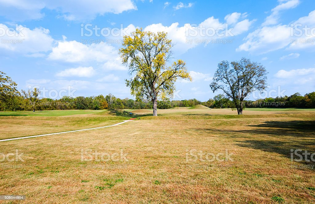 Hopewell Culture National Historical Park stock photo