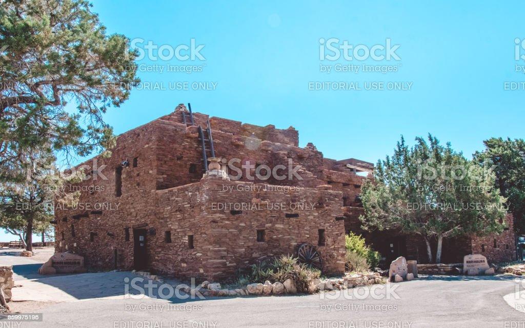 Hopi House. Grand Canyon National Park Tourist Attractions, Arizona, United States stock photo