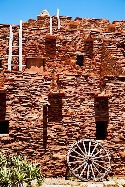 Hopi House - The Grand Canyon stock photo