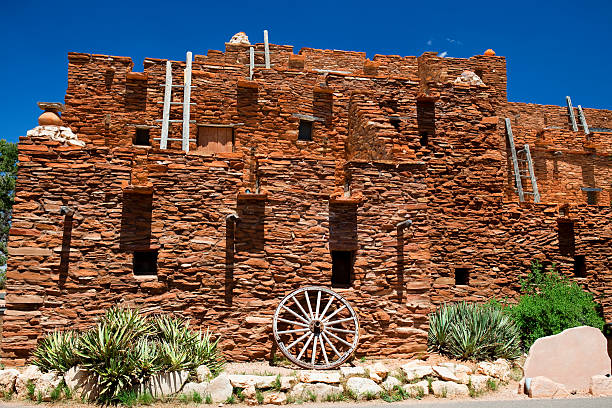 hopi house - the grand canyon - hopi stock photos and pictures