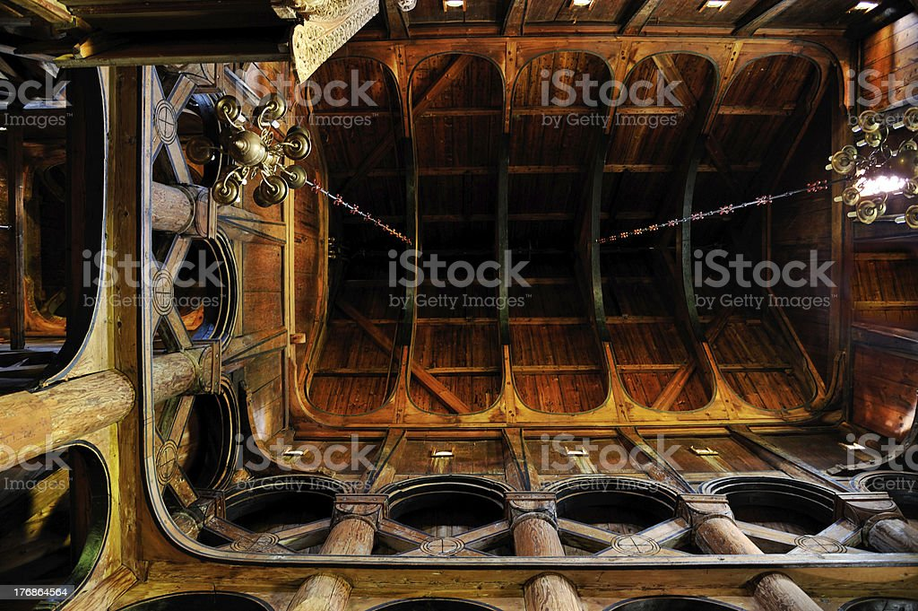 Hopperstad Stave Church - Norway royalty-free stock photo