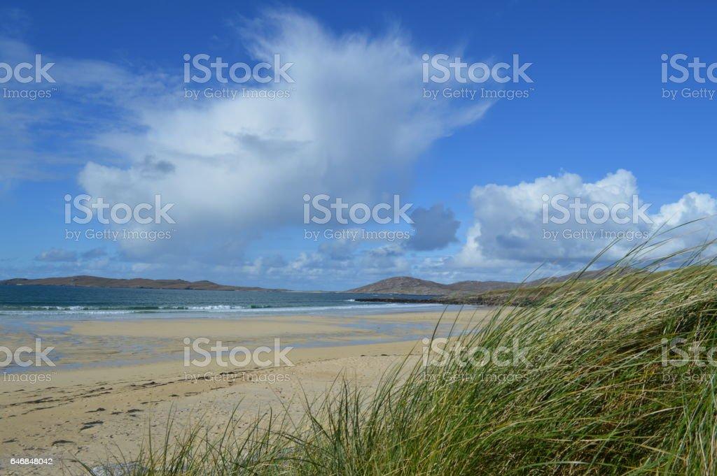 Horgabost Beach stock photo