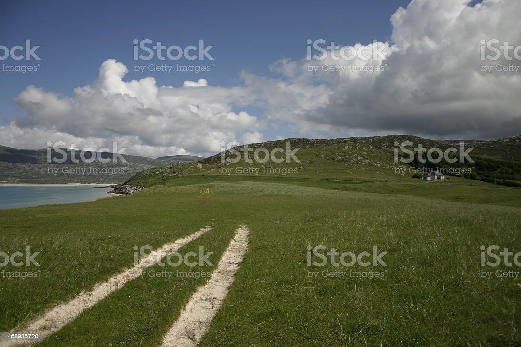 Horgabost, Isle of Harris, Outer Hebrides, Scotland stock photo